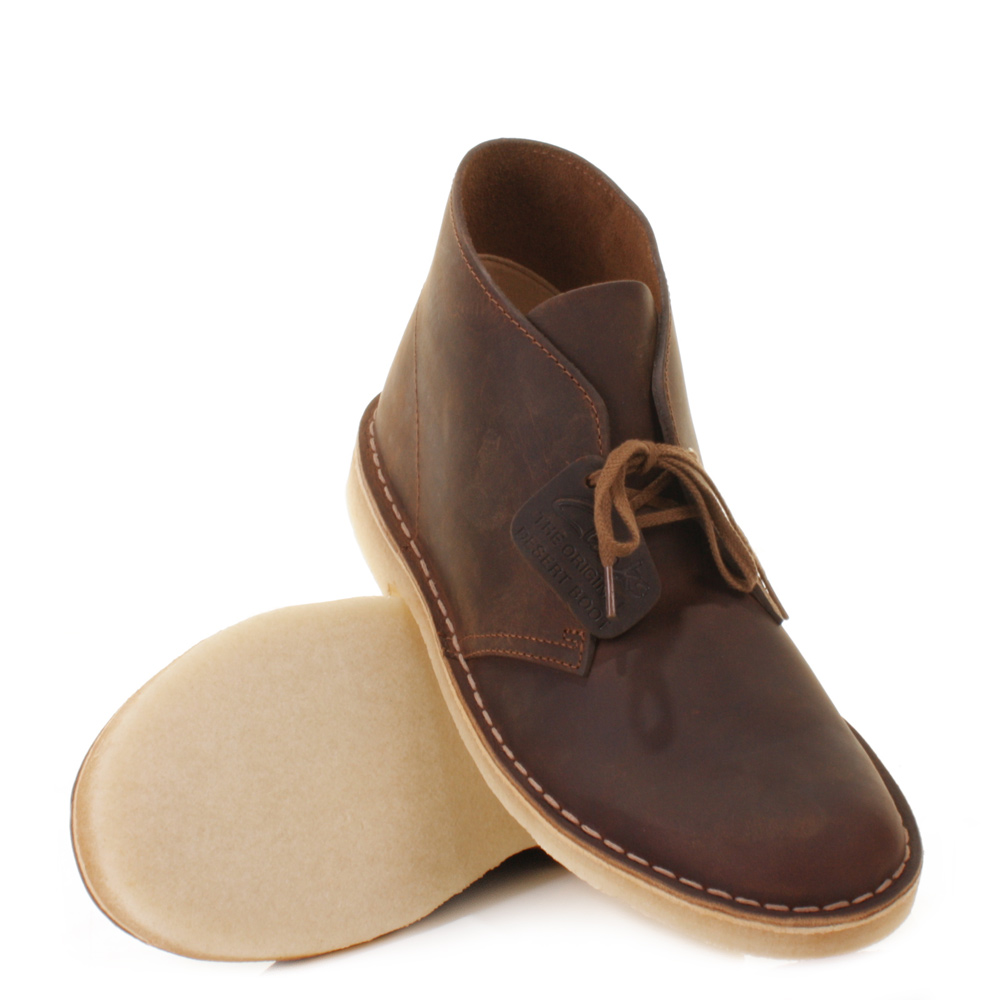 clarks originals beeswax leather desert boots shoes uk size clarks ...