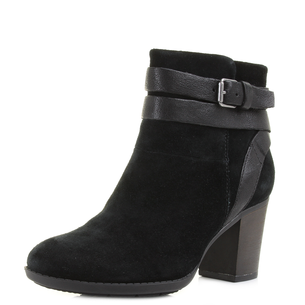 Simple Clarks Money Whistle Womenu2019s Ankle Boot In Black Leather