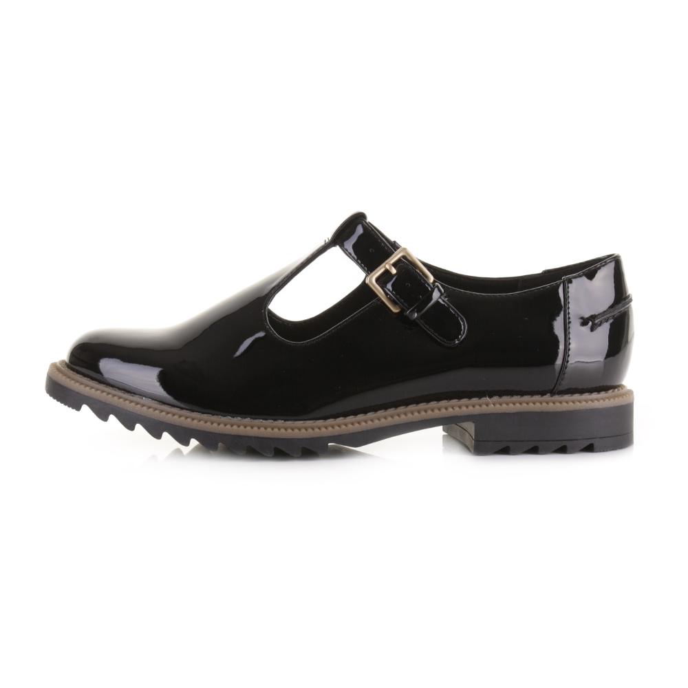 Clarks Griffin Monty Patent Leather Shoes