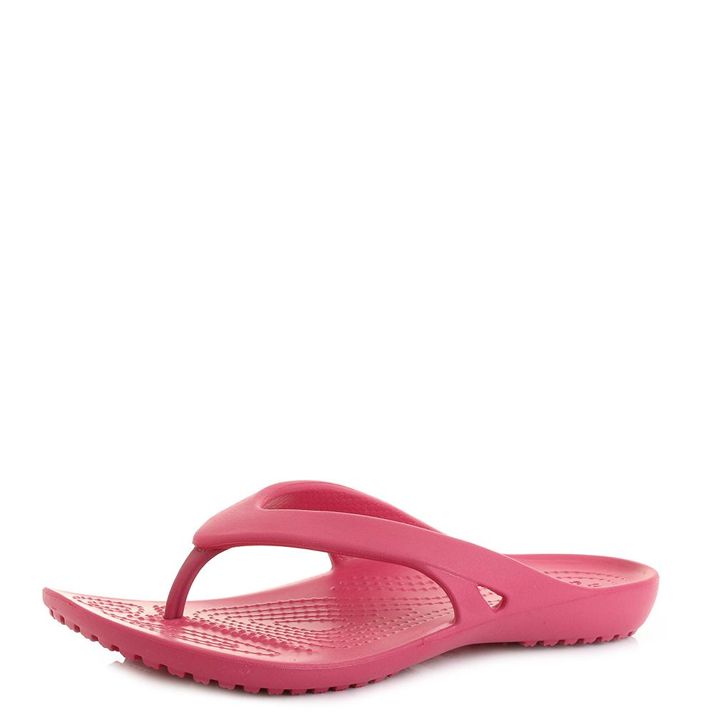 Model Crocs Capri V Graphic Womens Flip Flops Sandals Shoes Size UK 48
