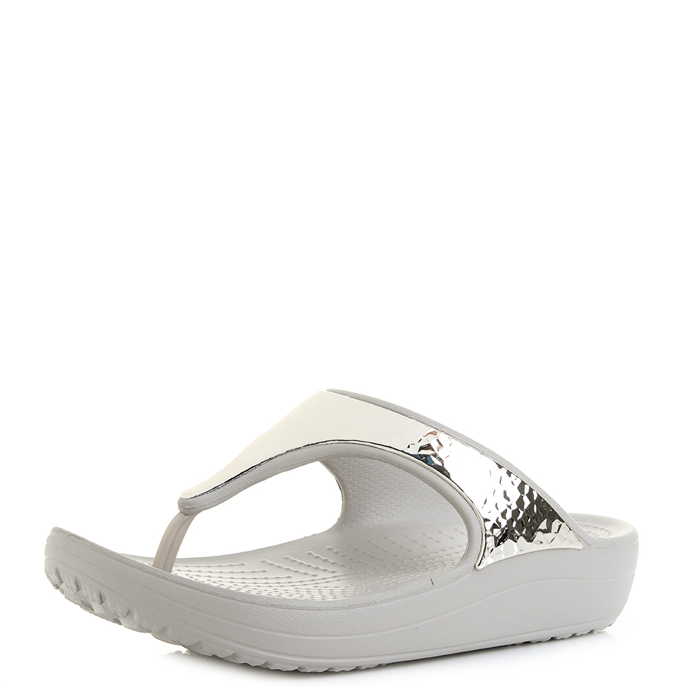 Elegant Crocs Womens Kadee Leopard Flip Flop Sandal New Relaxed Fit  EBay