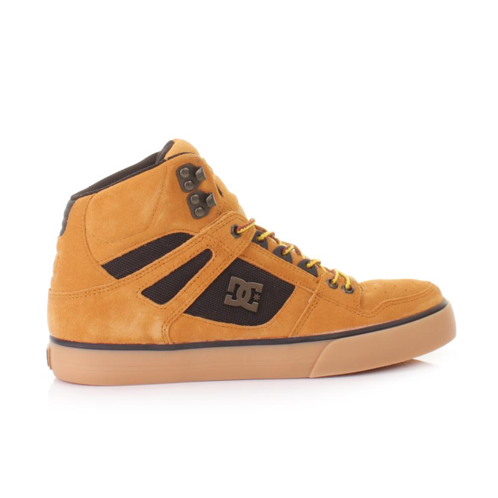 Dc Shoes Spartan Hi Wc Wr Wheat Black Skate