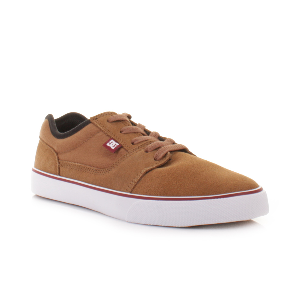 mens dc shoes tonik barley suede lace up casual skate