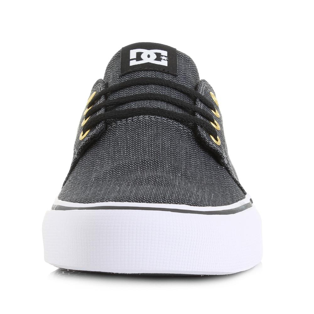 Skate shoes dc - Mens Dc Trase Tx Se Black Grey Skate