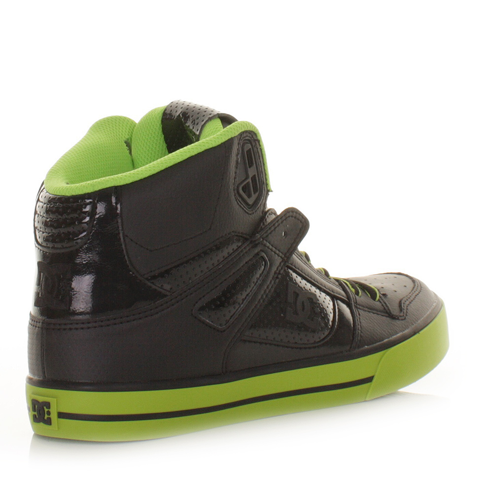 dc shoes high tops green and black. item specifics dc shoes high tops green and black k
