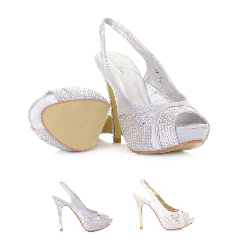 wedding bridal shoes uk size beautiful slingback satin wedding shoes