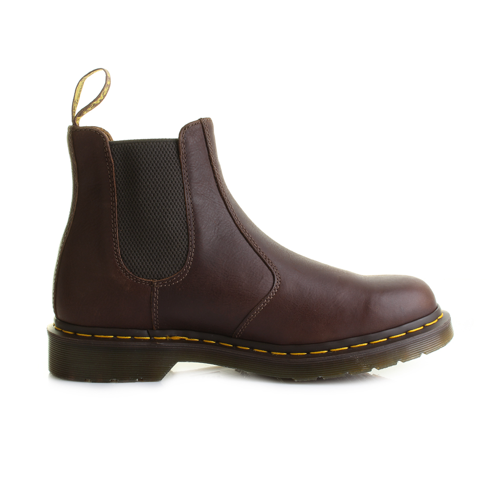 Mens Dr Martens 2976 Carpathian Tan Leather Chelsea Boots Shu Size ...
