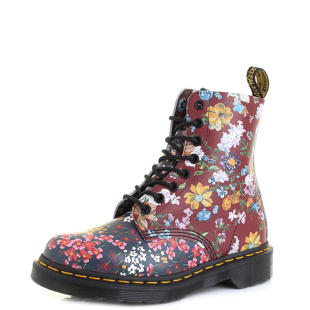 Womens Dr Martens Pascal FC Floral Mix Multi Floral Boots Shu Size ...