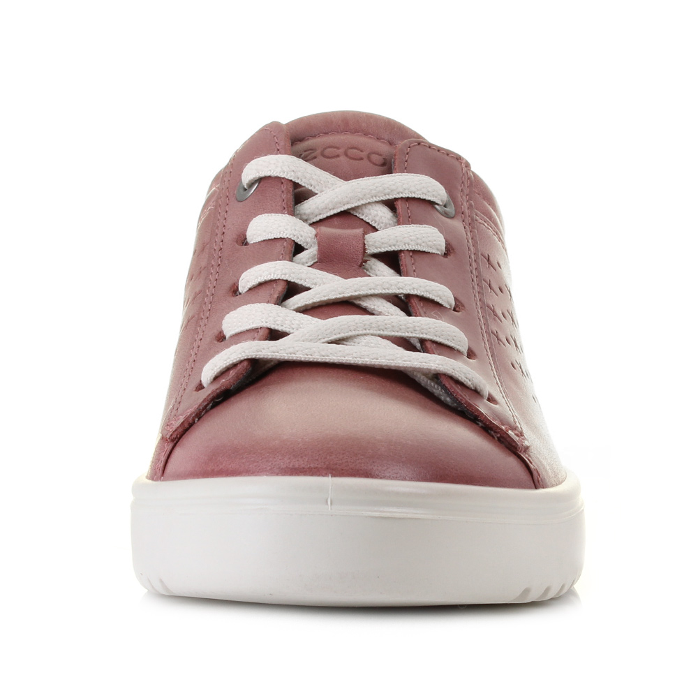womens ecco fara petal pink comfort leather lightweight