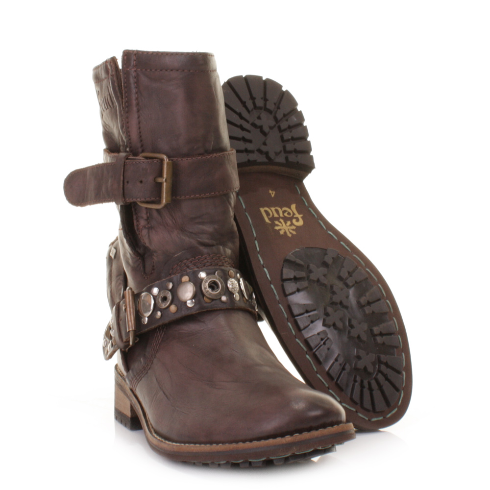 Creative 23 Fantastic Womens Brown Leather Ankle Boots | Sobatapk.com