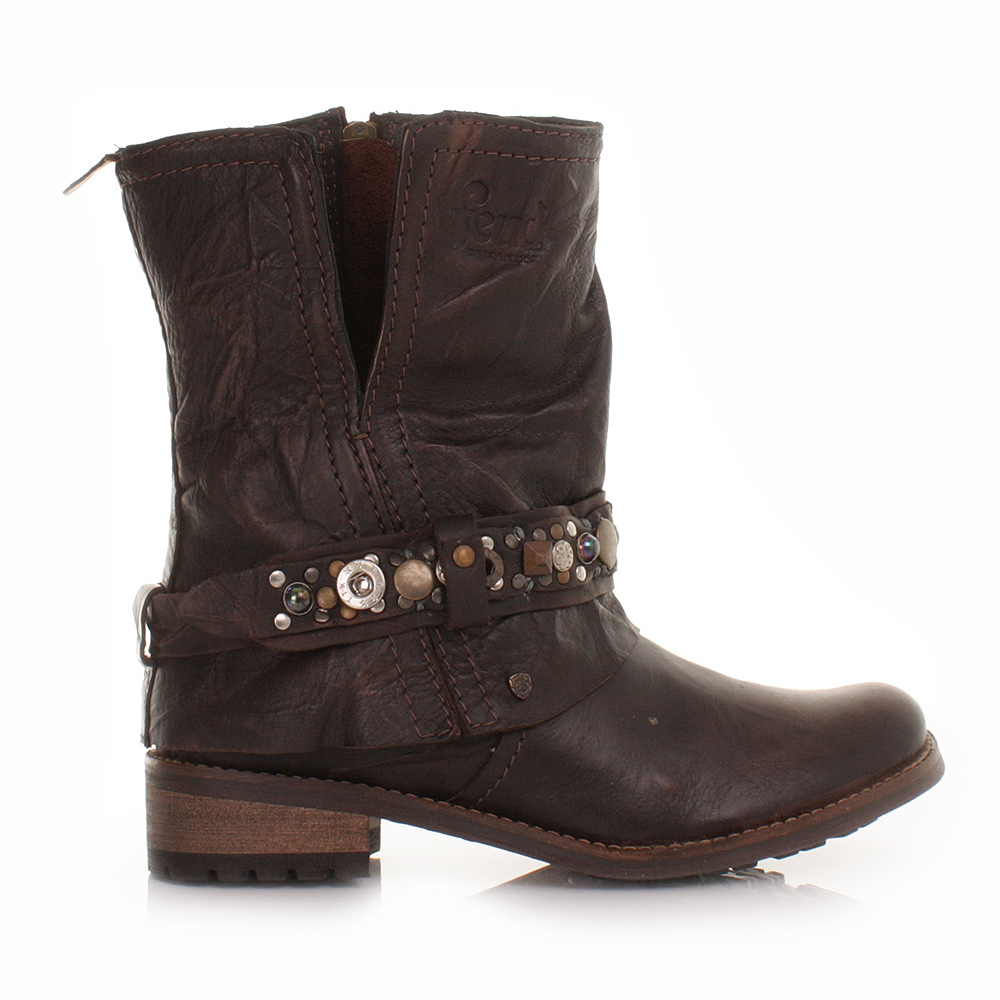 Reply, attribute Womens crispen vintage leather mid boot lie
