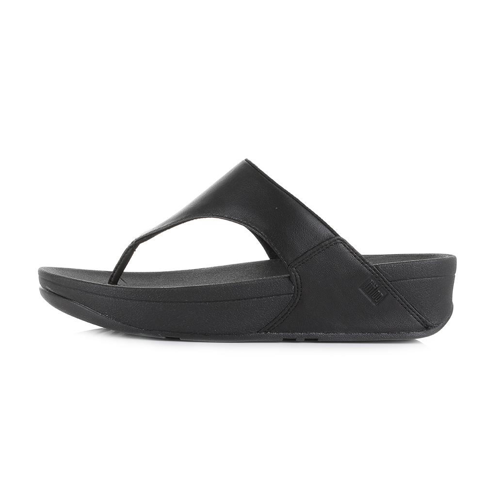 6b9c51a59a1e6 Fitflop Lulu Black Leather