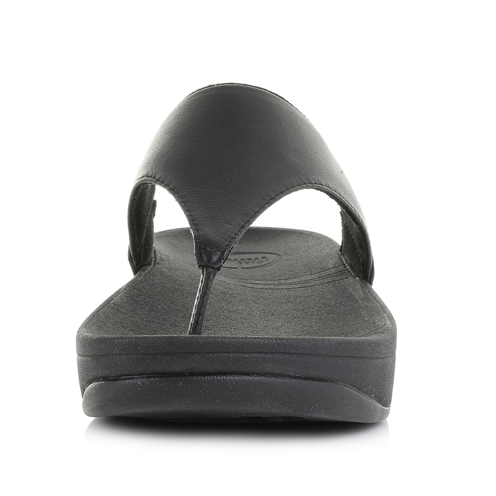 23ecfd3f25f0 Fitflop Black Leather Lulu