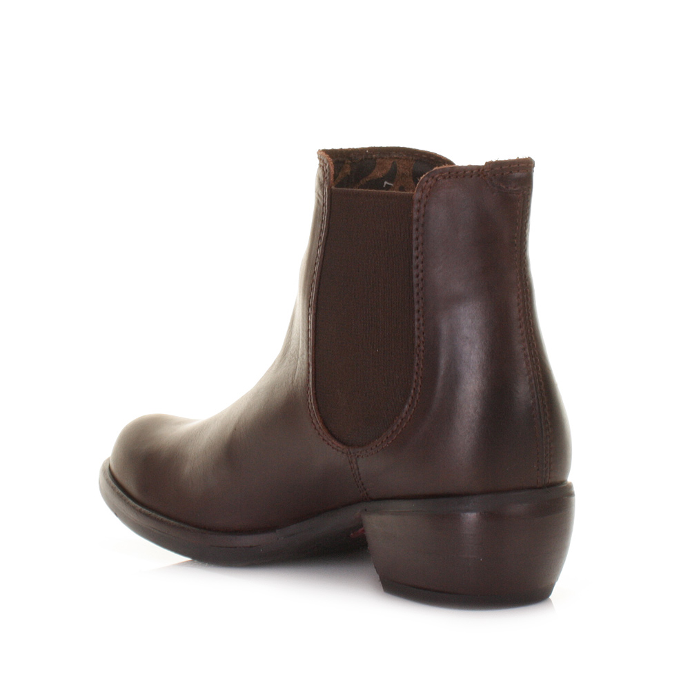 Simple Dune Paddy D Leather Ankle Chelsea Boots In Brown Tan  Lyst