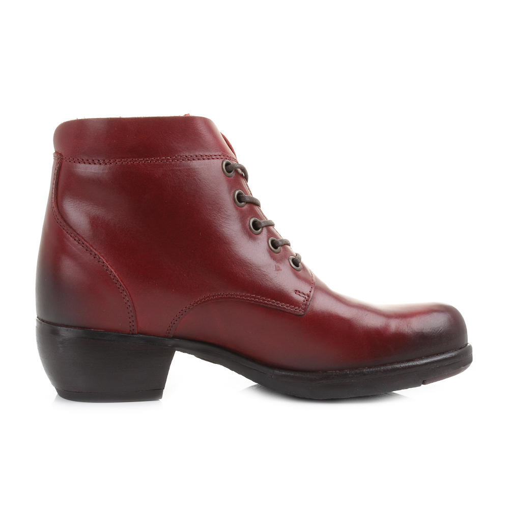 Simple Fly London Womens Mol Red New Leather Long Boots | EBay