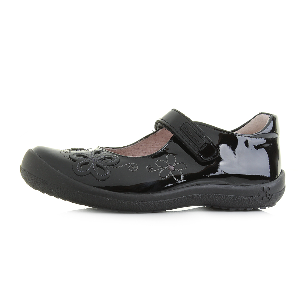 garvalin black patent leather school
