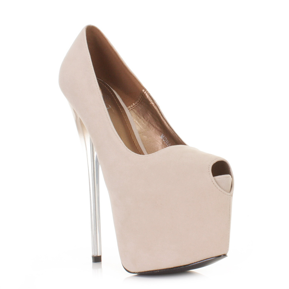 Nude Evening Heels - Is Heel