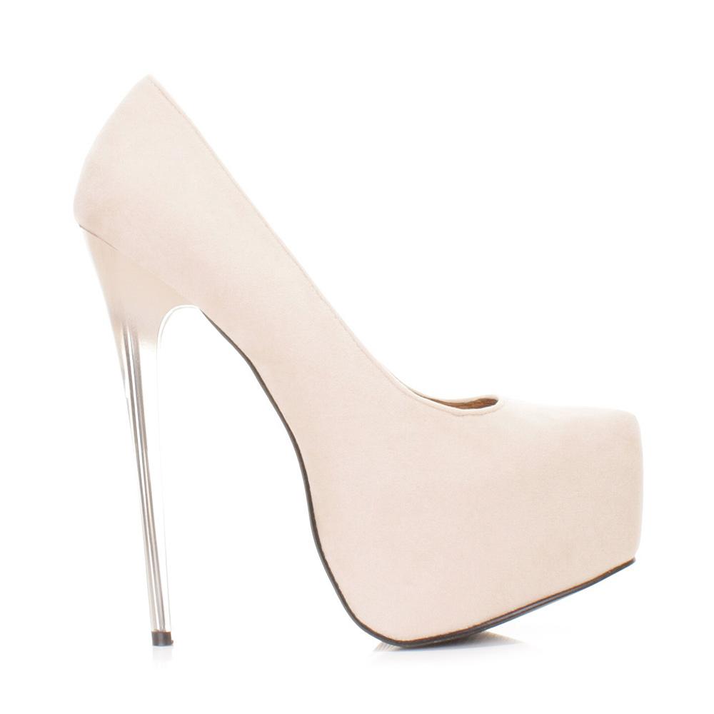 Bebo Shoes Transparent Heel
