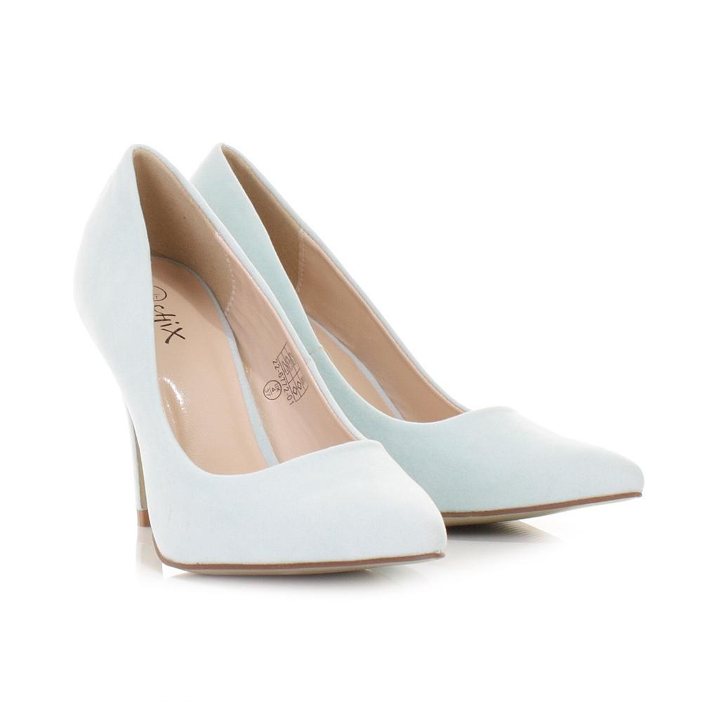 Pastel Blue High Heels
