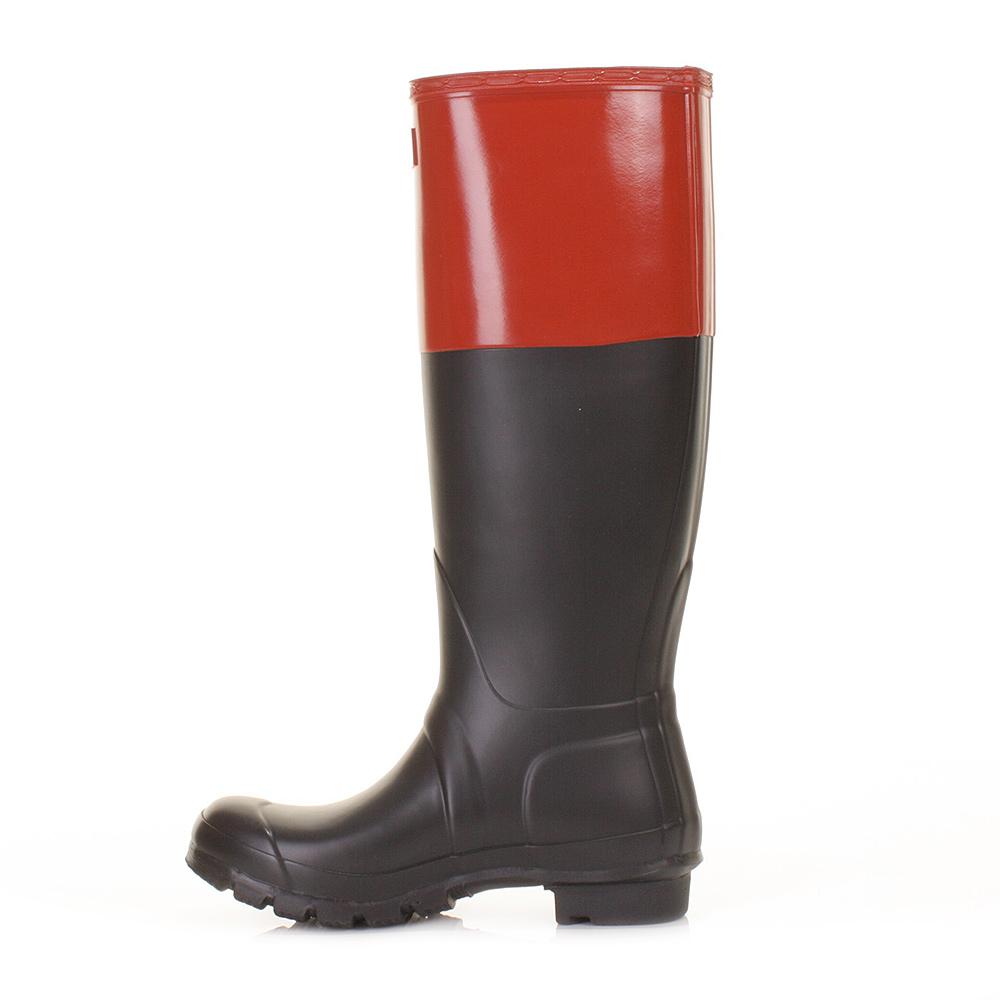 Cool Hunter Womenu0026#39;s Original Gloss Chelsea Wellington Boots - Black | Country Attire