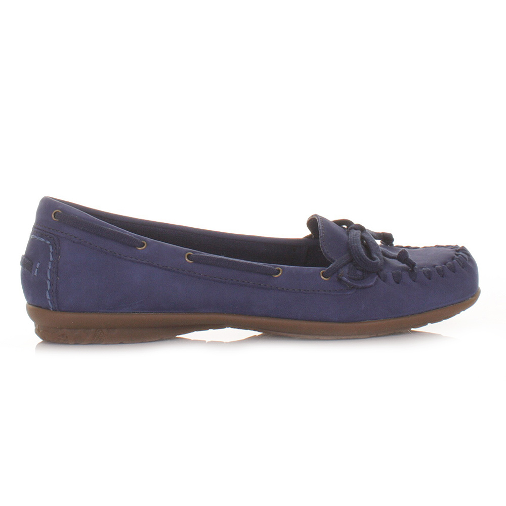 Ladies Blue Deck Shoes