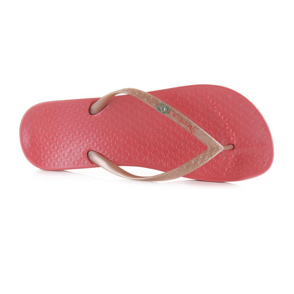WOMENS IPANEMA BEACH PINK ROSE GOLD CLASSIC SUMMER BEACH FLIP FLOP SIZE