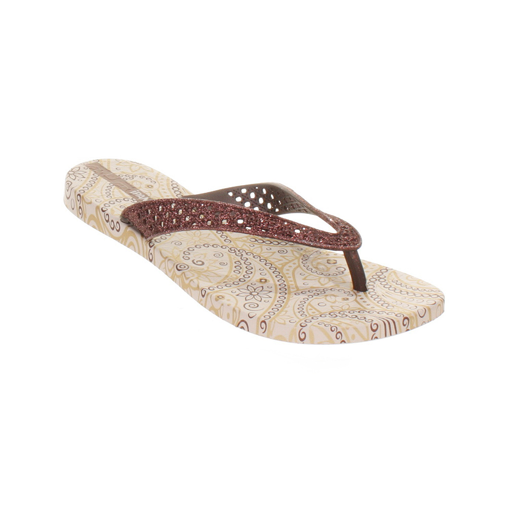 damen ipanema glitter bronze zehensteg flach flip flops. Black Bedroom Furniture Sets. Home Design Ideas