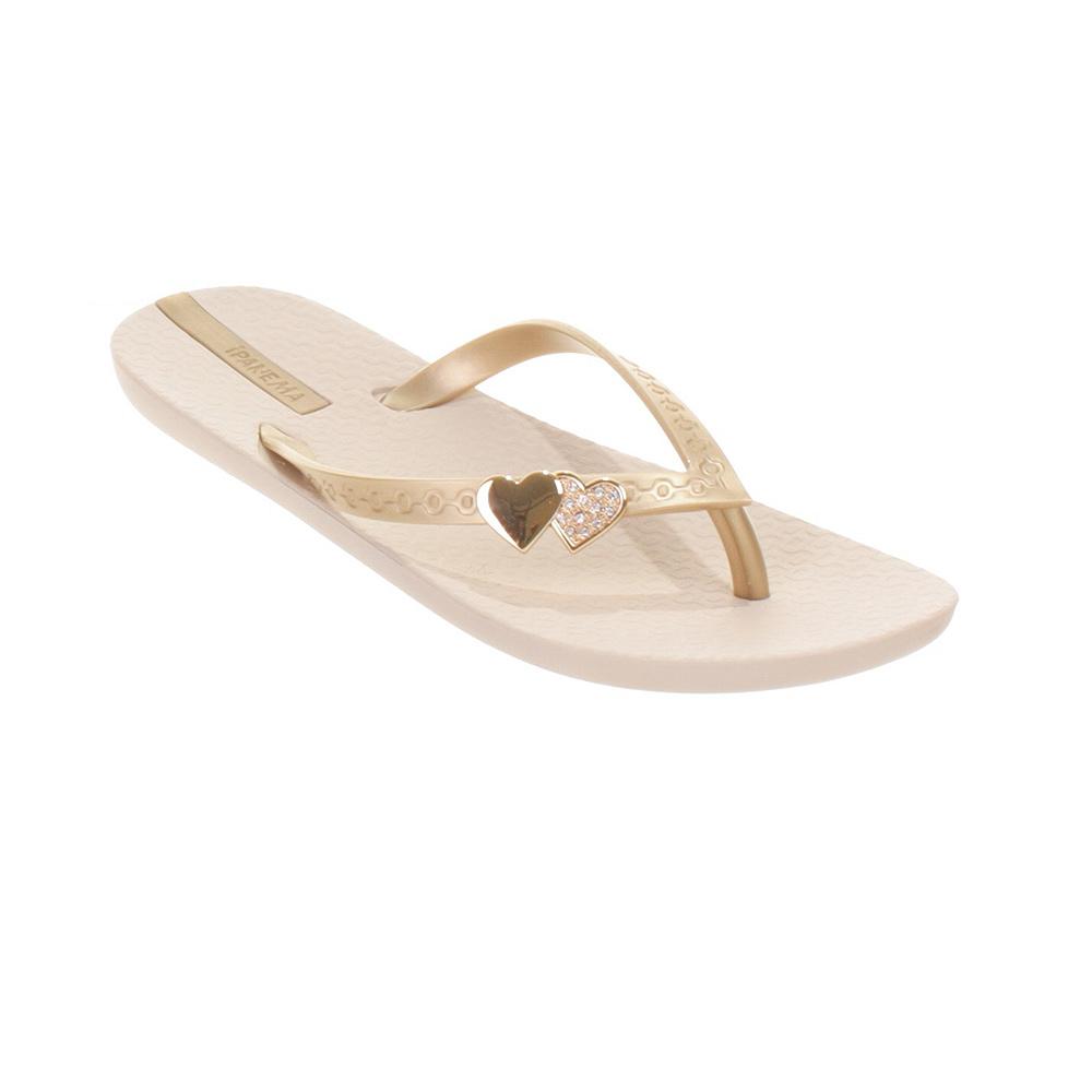 womens ipanema jewel beige love heart soft ladies sandals. Black Bedroom Furniture Sets. Home Design Ideas