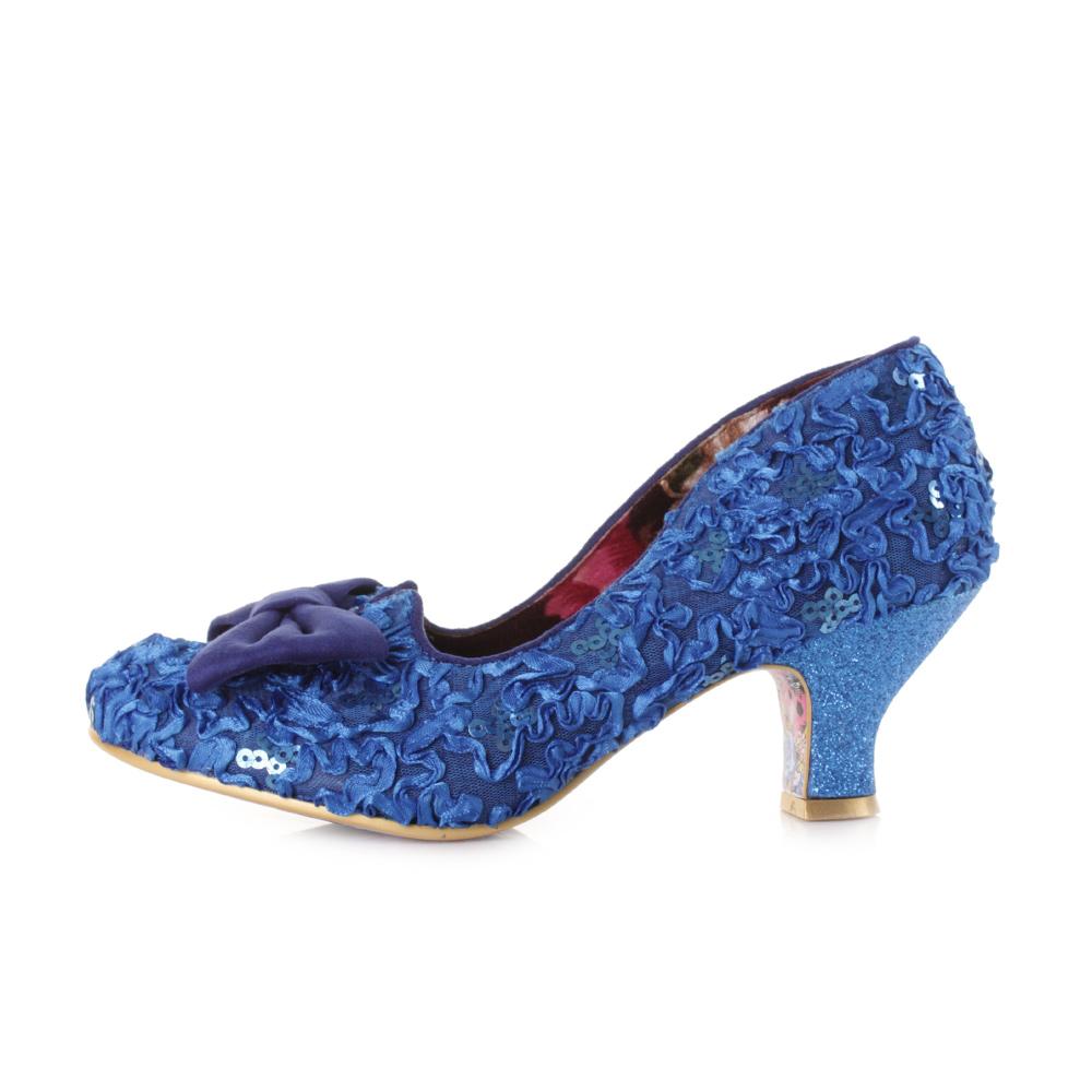 Blue Court Heels