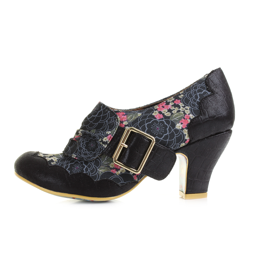 Shoes Low Heel Irregular Choice