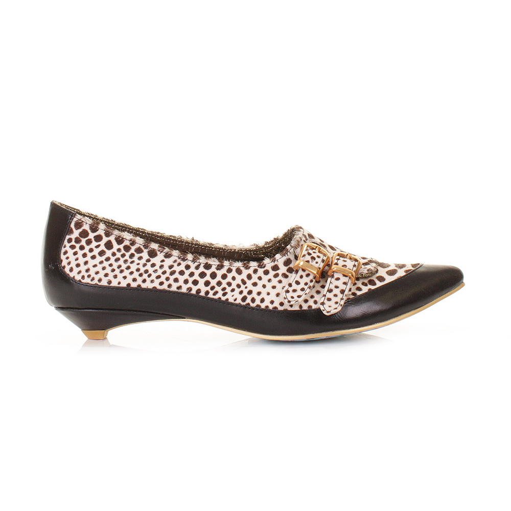 irregular choice womens pointed low shoes sparkly cosmo