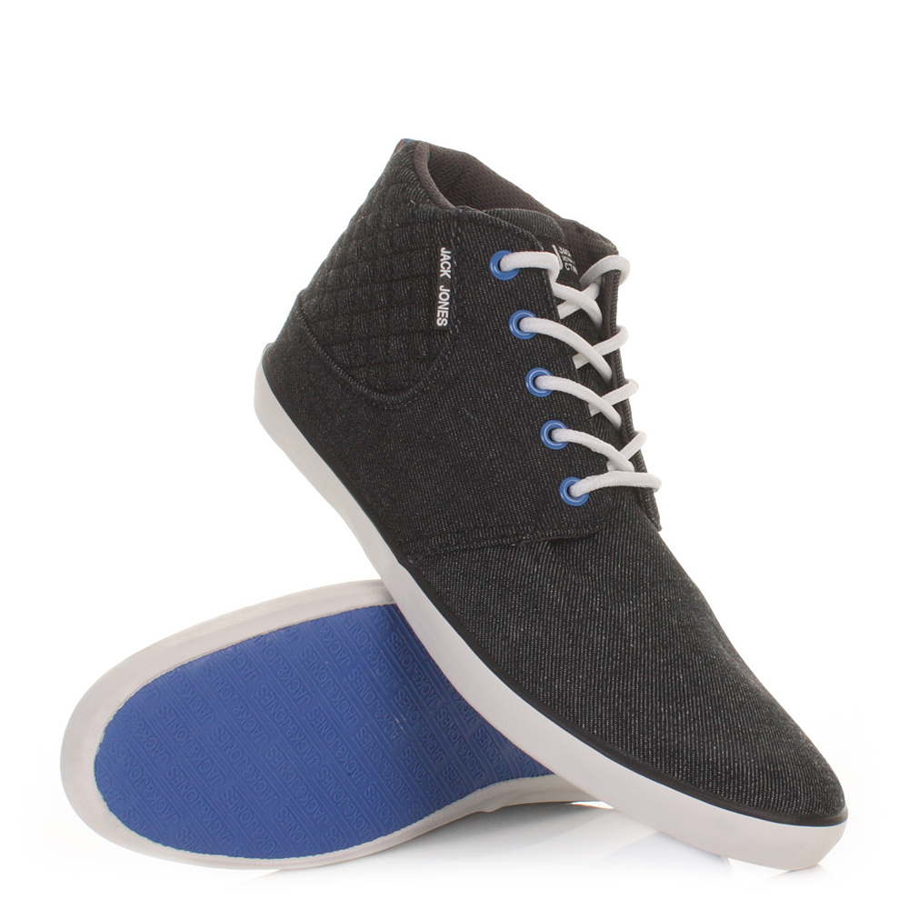 mens and jones vertu update dress blue trainer shoes