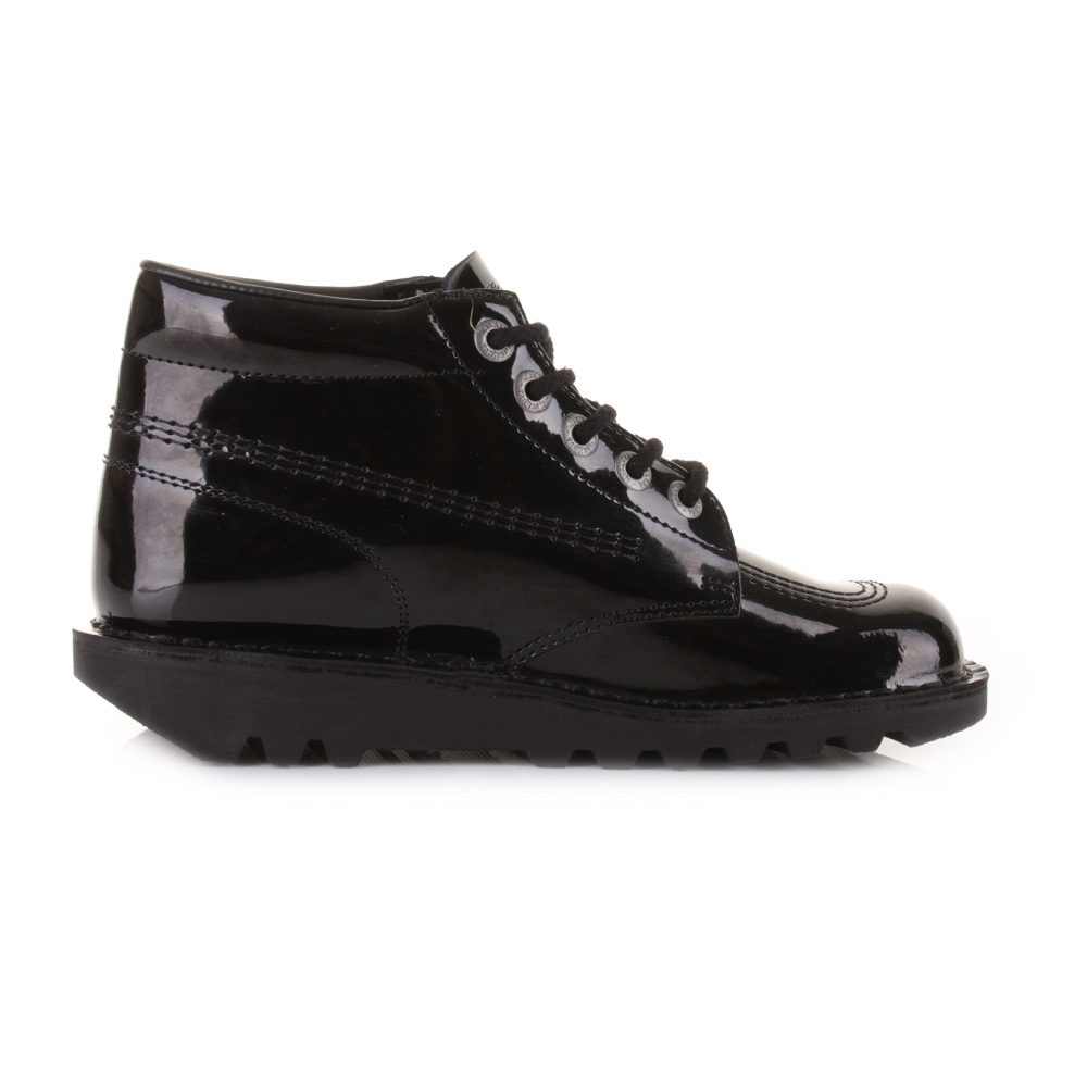 Elegant Black Lace Up Ankle Boots Women - Boot Ri