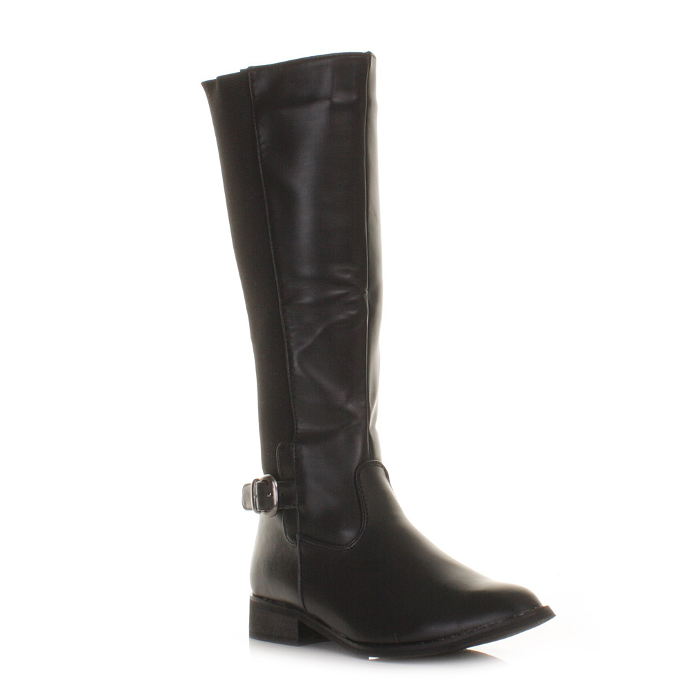 Simple Black Riding Boots For Women Images Amp Pictures  Becuo