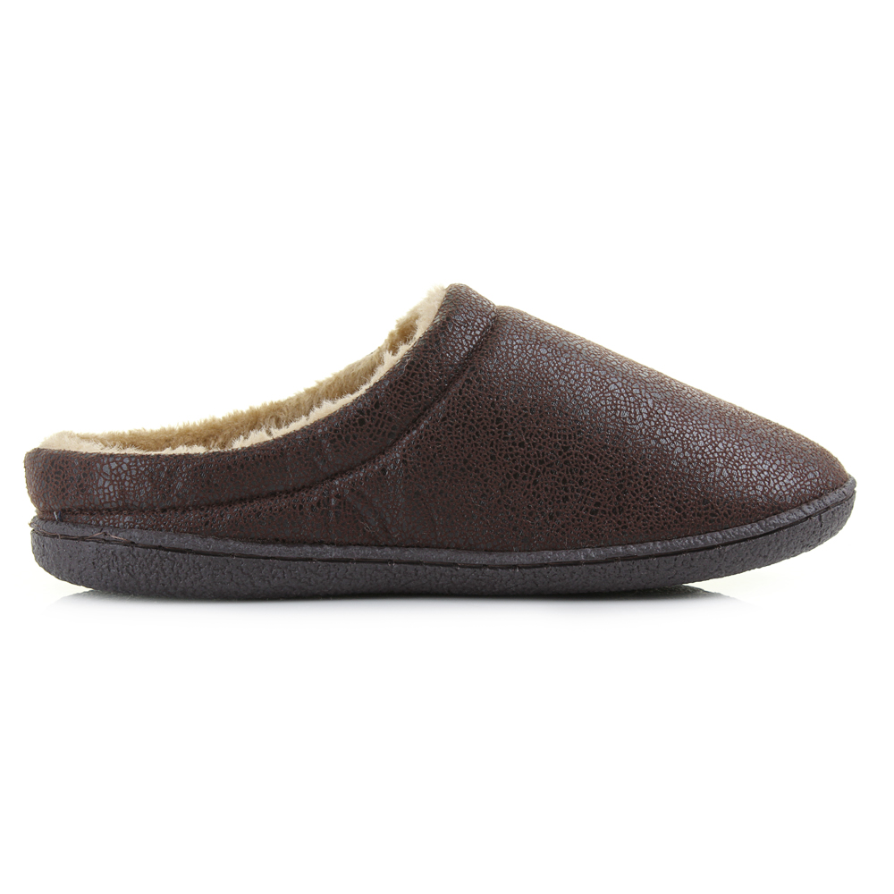 Men S Warm Slip On Shoes