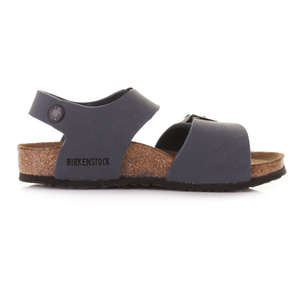 Kids Boys Birkenstock New York Kinder Navy Sandals Shoes Size C 11 ...