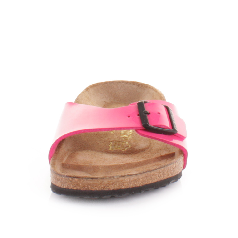birkenstock hot pink patent madrid