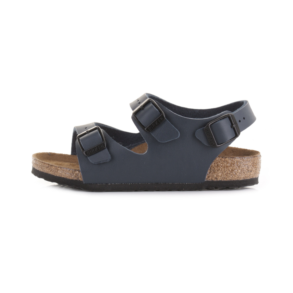 Kids Boys Birkenstock Roma Kinder Blue Buckle Summer Sandals Shoes Size
