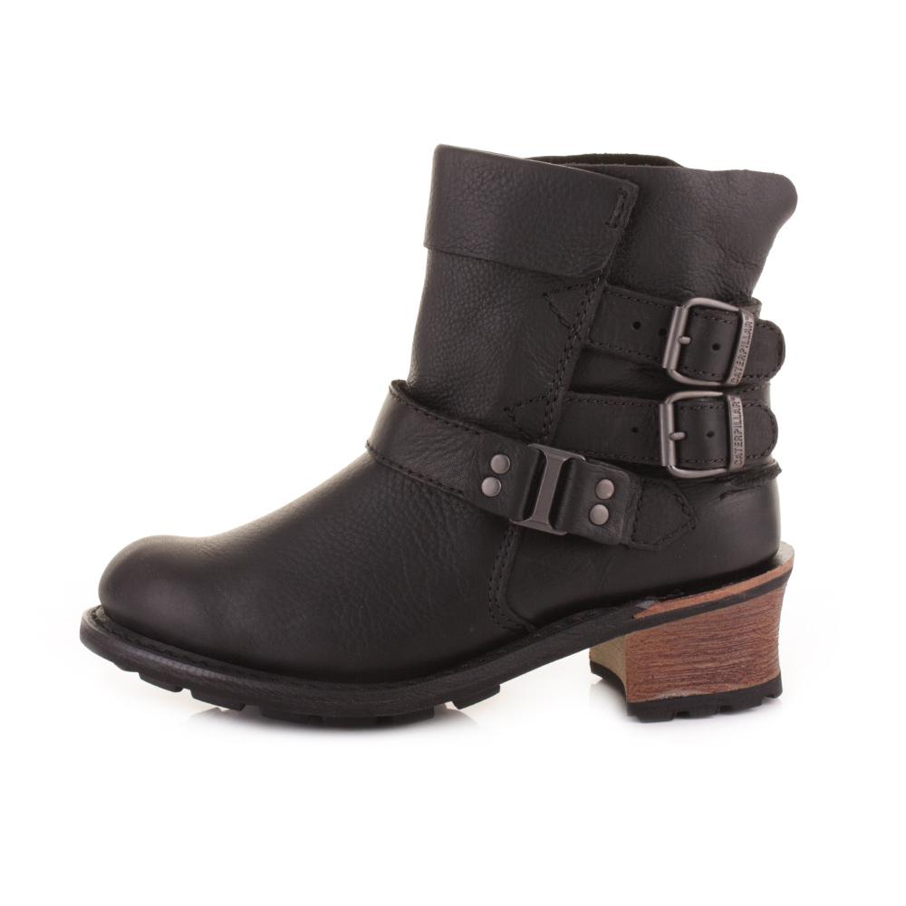 Model Caterpillar Boots Womenu0026#39;s 90563 Steel Toe Brown EH Work Boots - LeatherMasterWorkBoot