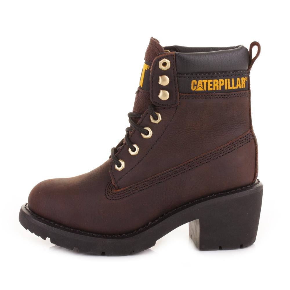 Zoom immagine Shoes Cat Caterpillar Colorado P307015 ankle boots Women grey metallic nobuck