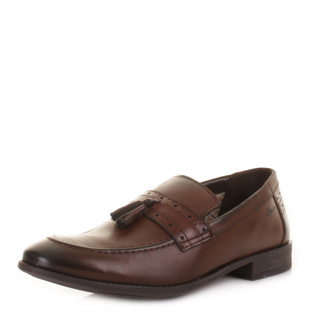 New-Clarks-Charlie-Lift-Brown-Leather-Shoes-Online-Retailer-Shop
