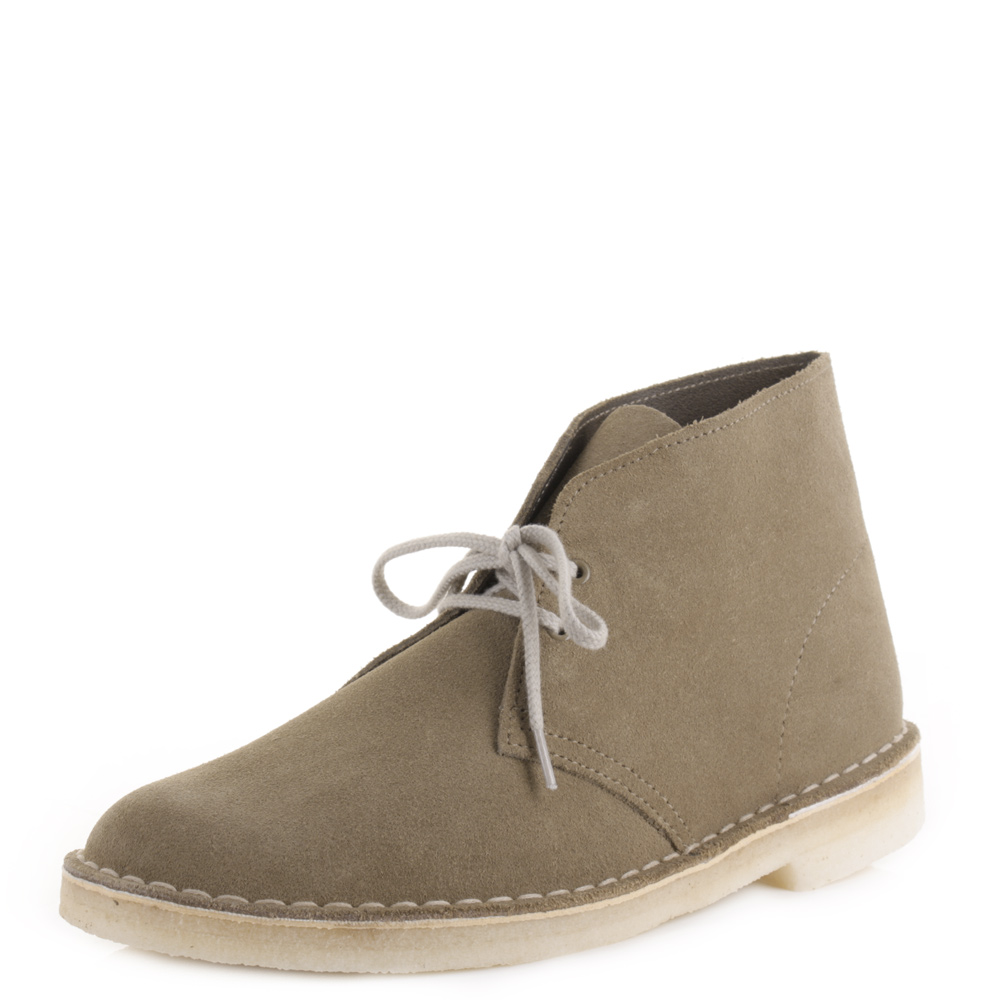 mens clarks original desert boots truffle suede crepe sole