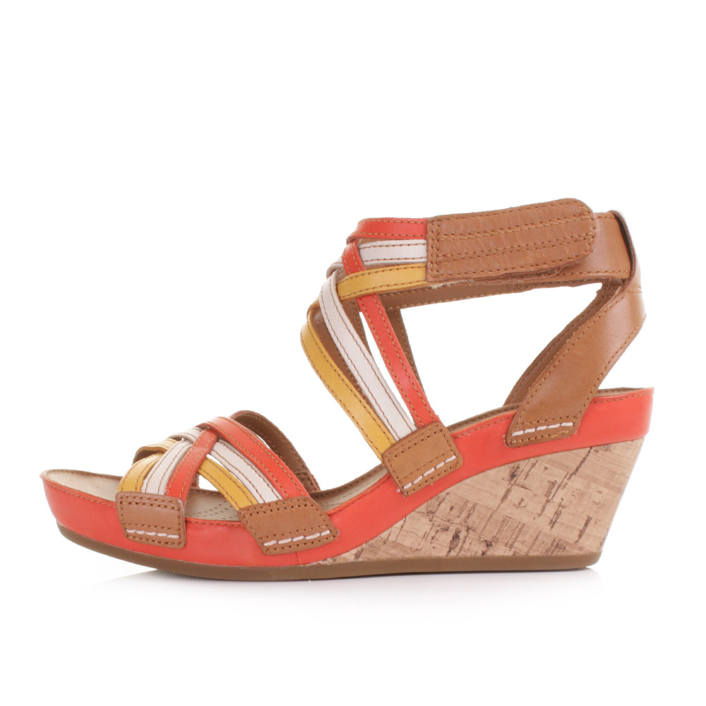 Wedge Heel Strappy Sandal