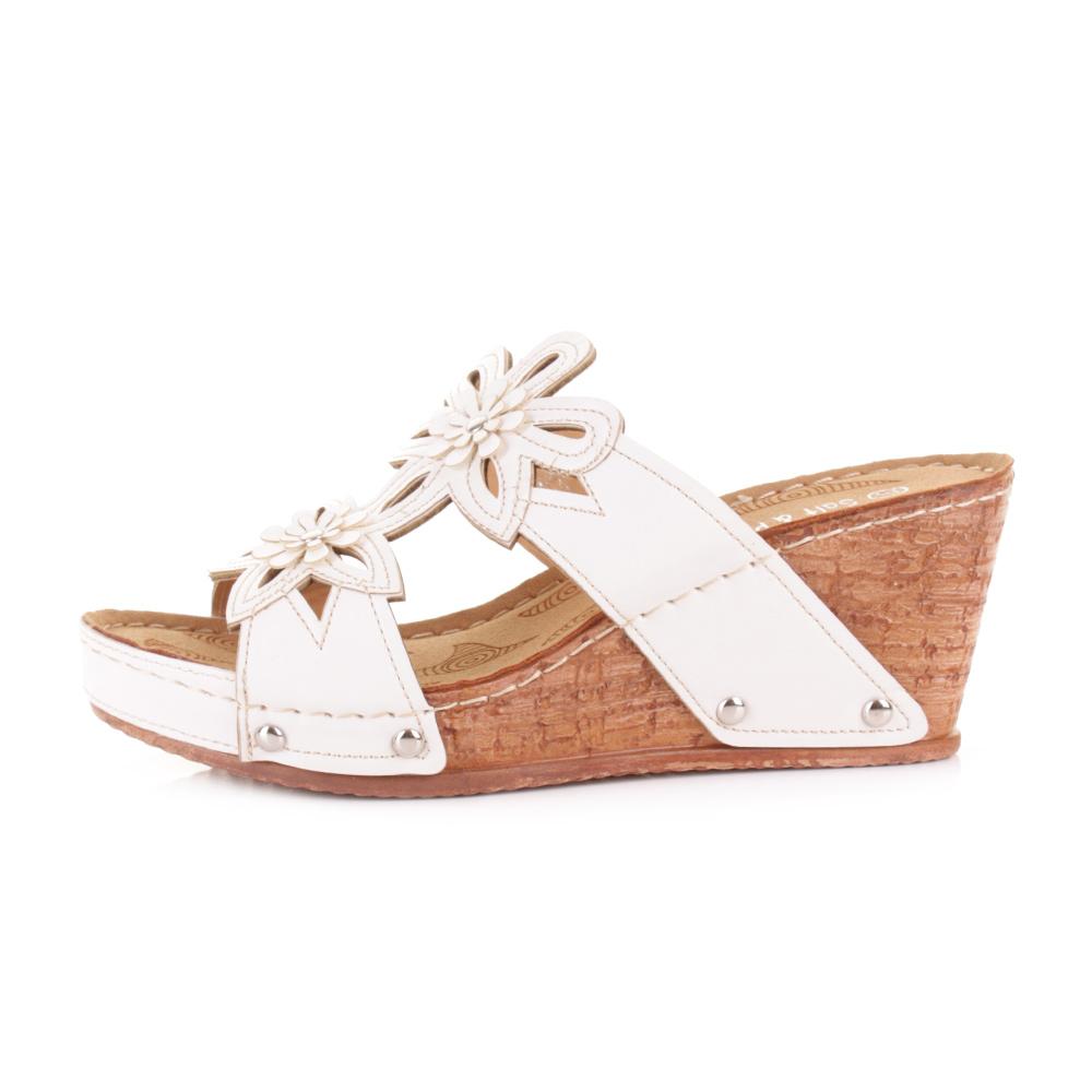 womens slip on mule low wedge heel comfortable sandals shoes size ebay
