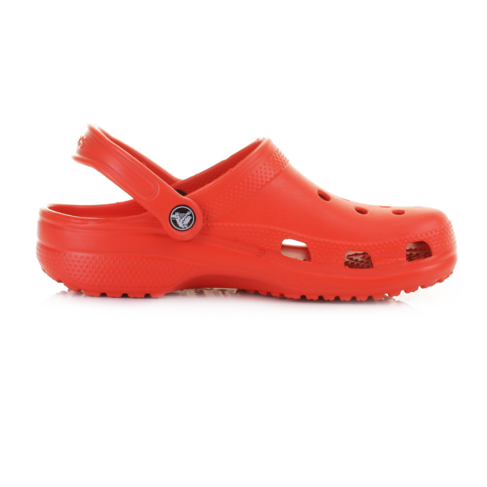 Womens Crocs Classic Tomato Clogs Sandals Beach Shoes Size ...