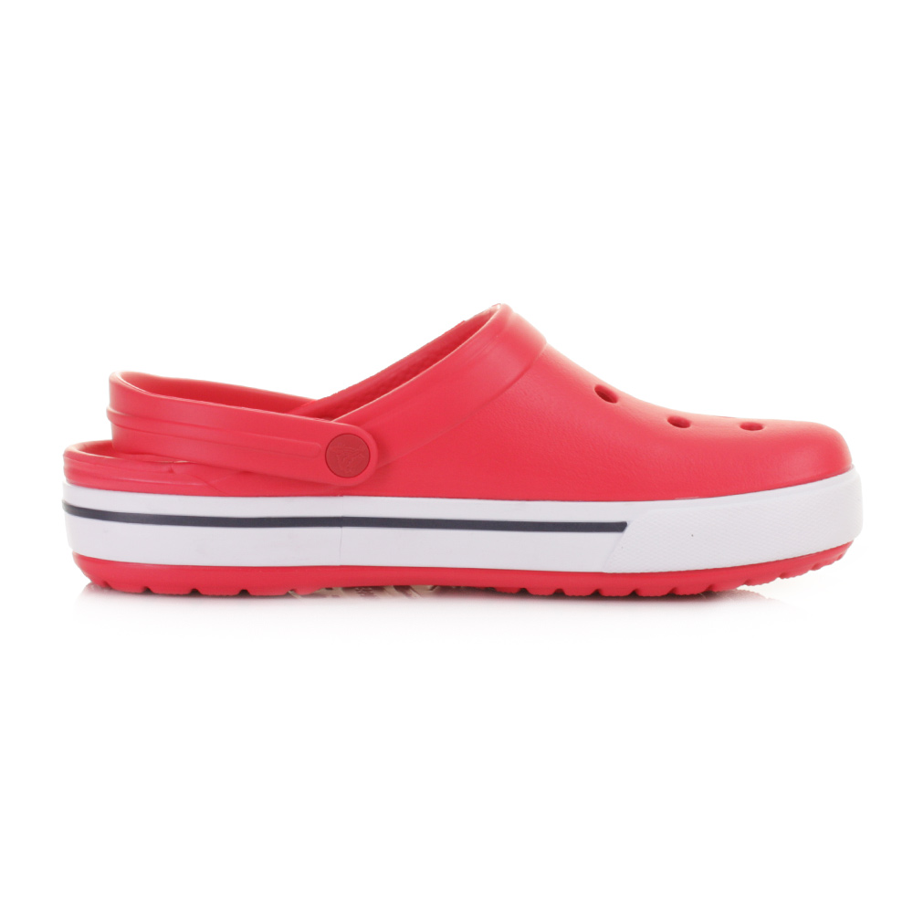 Mens Womens Unisex Crocs Crocband 2.5 Red Navy Clog ...