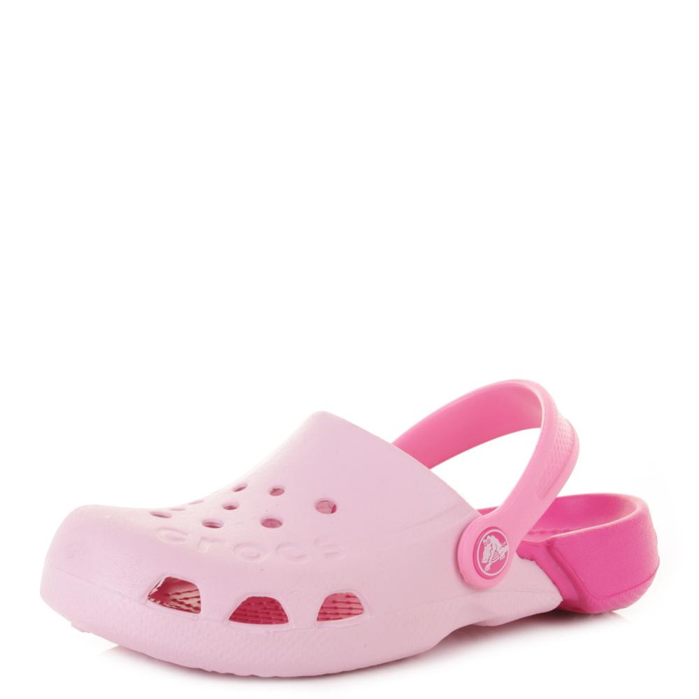 crocs electro bubblegum electro pink jelly