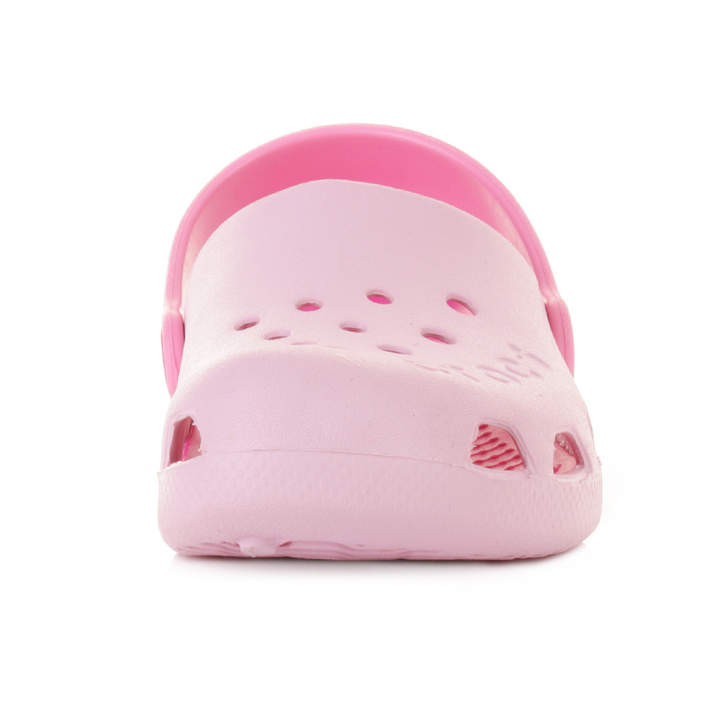 KIDS GIRLS CROCS ELECTRO BUBBLEGUM ELECTRO PINK JELLY SANDALS SHOES