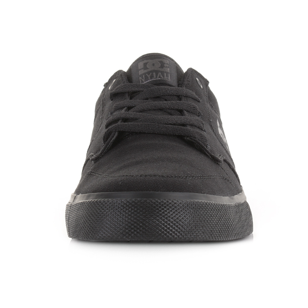 Skate shoes dc - Dc Nyjah Vulc Tx All Black Slim Profile Skate Shoes Casual Trainers Size