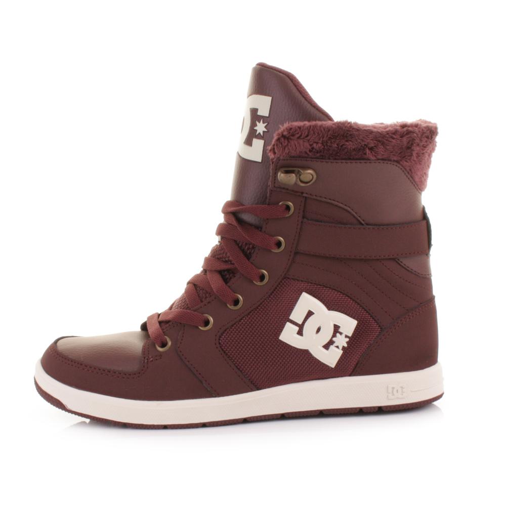 DC Rebound Hi-Top girls shoes | buy DC Rebound hi-tops womens footwear